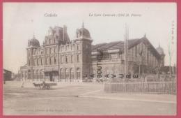 62 - CALAIS--La Gare Centrale (coté St Pierre) - Calais