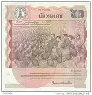THAILAND  P. 93a 60 B 1987 UNC - Thailand