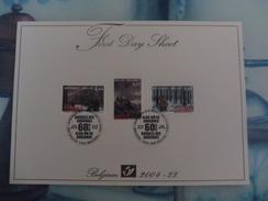 First Day Sheet Bastogne 2004 - Belgique