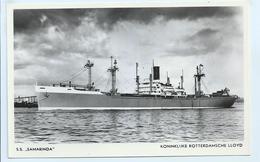 "KoninKlijke Rotterdamsche Lloyd - S.S. ""Samarinda"" - Commerce"