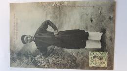COCHINCHINE SAIGON SERVITEUR D'UN MANDARIN ASIE CPA Animee Postcard - Cina