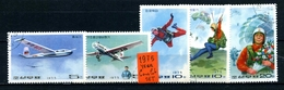 KOREA Del NORD - Year 1975 - COMPLET SET - Sport Aerei - Aerial Sports - Timbrati - Stamped. - Corea Del Nord