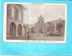 DEPT 31 - MAUZAC Près NOE - L'Eglise Et La Halle - ENCH1612 - - Francia