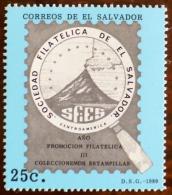 SALVADOR VOLCANS, VOLCAN, Geologie, Sociedad Filatelica Emis En 1989.  MNH  ** - Volcans
