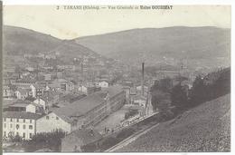 TARARE - Vue Générale Et Usine GOURDIAT - Tarare