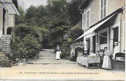 VAUCRESSON -  Jardins Et Cuisines Restaurant Bourcier Route De Rocquencourt Belle Animation  EDIT. BOURDIER A VERSAILLES - Vaucresson
