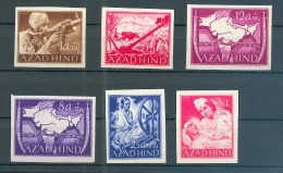 Feldpost AZAD HIND NATIONALES INDIEN I-VIB**POSTFRISCH 30EUR (70306 - Bezetting 1938-45