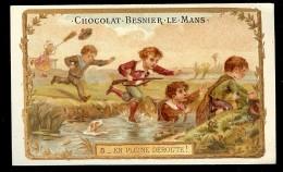 CHROMO Chocolat BESNIER 5 - En Pleine Déroute ! - Chocolat