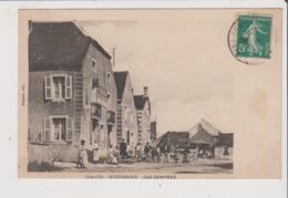 CPA - BOURBERAIN - Café SEMPREZ - Restaurant Tabac - Francia
