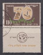 ISRAEL 1952  Mi.nr: 79  70.Jahrestag Der.....  OBLITERE / USED / GEBRUIKT - Israel