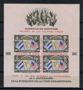 Honduras Y/T Blok 1 (*) - Honduras