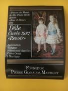 "2832 - Exposition Renoir Rose & Bleu ""Trésors Du Musée De Sao Paulo"" 1988 Fondation Gianadda Martigny  2 étiquettes - Art"