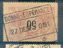 K963 Belgie Spoorwegen Met Stempel BONNE - ESPERANCE - Chemins De Fer