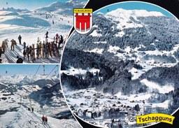 Austria Österreich - Tschagguns - Multi View Mehrbildkarte - Schruns