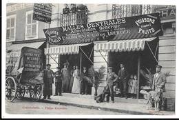 CONTREXEVILLE - Halles Centrales - Alimentation Générale Gustave Libercier (très Beau Plan Rare) - Vittel Contrexeville