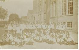 CHIMAY : Carte Photo - Groupe D'élèves - Pensionnat Notre Dame - 1928 - Chimay