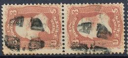 Stamp Us 1861 Scott#65 Washington 3c  Fancy Cancel Used Lot#72 - Gebruikt