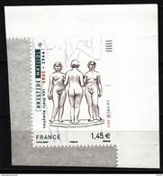 Aristide Maillol, Les Trois Nymphes, AUTO ADHESIF, 2011  Neuf **   Grande Marge - Adhésifs (autocollants)