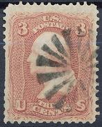 Stamp Us 1861 Scott#65 Washington 3c  Fancy Cancel Used Lot#119 - Used Stamps