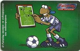 Greece - Fairplay 9 - Football - X1139 - 06.2001 - 40.000ex, Used - Greece