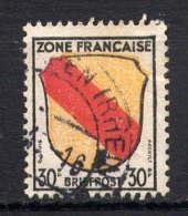 ZOF - 10° - ARMOIRIES DE BADE - Zone Française