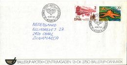 Spain Cover FIP 80 International Pharmacy Congress Madrid 4-9-1980 Nice Cover - Pharmacy