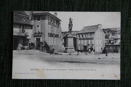 MENDE - Le Souvenir Francais, Place De L'Hôtel De Ville. - Mende