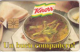 VENEZUELA(chip) - Knorr, 03/96, Used - Alimentación