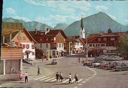 Obertstdorf Allgäu Bahnhofsplatz - Oberstdorf