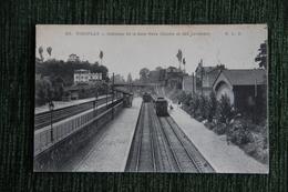 VIROFLAY - Intérieur De La Gare, Rive Gauche Et Des Invalides. - Viroflay