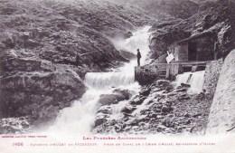 09 - Environs D Auzat Et  Vicdessos ( Ariege )  Prise Du Canal De L Usine D Auzat , En Dessous D Izourt - France