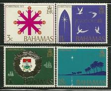 "Bahamas        ""Christmas 1971""     Set     SC# 331-34 MNH** - Bahamas (1973-...)"