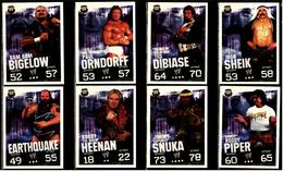 8 X Sammel-Karte / Trading Cards  -  WWE Wrestling  -  Slam Attax Evolution  -  Von Ca. 2008 / 2010   (8) - Sammelbilder, Sticker