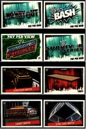 8 X Sammel-Karte / Trading Cards  -  WWE Wrestling  -  Slam Attax Evolution  -  Von Ca. 2008 / 2010   (10) - Sammelbilder, Sticker