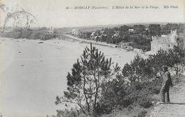 29)    MORGAT  - L'  Hotel De La Mer Et La Plage - Morgat