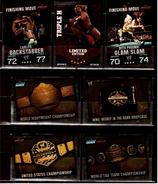 7 X Sammel-Karte / Trading Cards  -  WWE Wrestling  -  Slam Attax Evolution  -  Von Ca. 2008 / 2010   (14) - Sammelbilder, Sticker