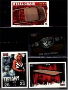 4 X Sammel-Karte / Trading Cards  -  WWE Wrestling  -  Slam Attax Evolution  -  Von Ca. 2008 / 2010   (15) - Sammelbilder, Sticker