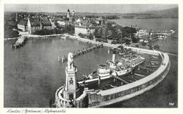 Lindau A. Bodensee - Hafenpartie - Verlag Erwin Burda - Lindau A. Bodensee
