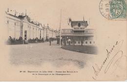 16 / 12 / 374 -   EXPOSITION  DE  LILLE  1902  -PALAIS  DES  BEAUX  ARTS  DE  LA  CÉRAMIQUE - Lille