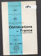 Armand Mathieu : Oblitérations De France Sur Timbres Détachés . Ed 1974 (F.6812) - Catalogues De Maisons De Vente
