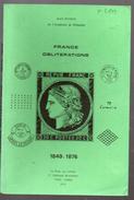 Pothion : France Oblitérations 1849-1876  EDITION 1975 (F.6809) - Catalogues For Auction Houses