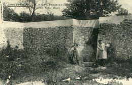 F02  / REPRO CPA MONTFERMEIL - FONTAINE JEAN VALJEAN - Montfermeil