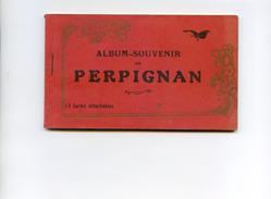 Carnet Complet De 12 Cartes - Perpignan Album Souvenir - Perpignan