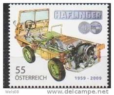 """Österreich 2009:  """"Puch Haflinger"""" Postfrisch - 2001-10 Nuevos & Fijasellos"""