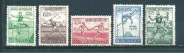 Belgique Timbres De 1950 N°827 A 831    Neufs **  Cote 85€ - Nuevos