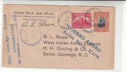 Haiti / Airmail / Dominican Republic - Haiti