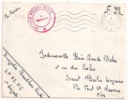 ALGERIE SP 89.016 BLIDA,  POSTE AUX ARMEES. 1963.L2 - Postmark Collection (Covers)