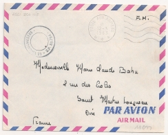 ALGERIE SP 88.784 HASSI BOUNIF POSTE AUX ARMEES. 1963. Lot2 - Postmark Collection (Covers)