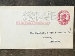 B14 United States Etats-Unis USA Stationery Entier Postal Ganzsache UX24 From Philadelphia Frankford Station