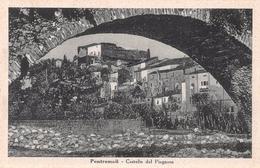 """06518 """"PONTREMOLI (MS) - CASTELLO DEL PIAGNARO"""" CART. ILL. ORIG. NON SPEDITA. - Italia"""